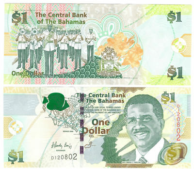 Trend Mark Bahamas 1 Dollar 2008 Checkout Fresh Pick 71 North & Central America