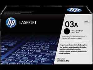 12-Virgin-Empty-Genuine-HP-03A-Laser-Cartridges-C3903A