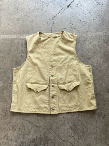 Vintage 30s 40s Filson Tin Cloth Canvas Hunting Ve