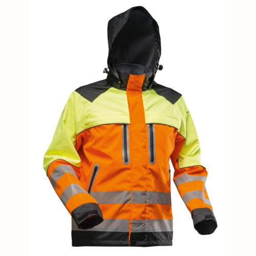 PFANNER Nanoshield SympaTex Regenjacke EN 471 orange-neongelb Jacke wasserdicht