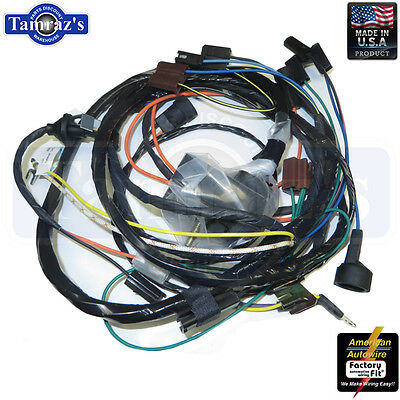 70 Chevelle Engine Wiring Harness V8, 396-454 c.i. w/h TH400 Automatic on