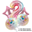 Unicorn-Balloons-Rainbow-Birthday-Party-Decorations-Princess-Girl-Foil-Latex thumbnail 4