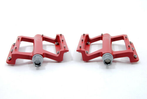 VP Components VP-69 Downhill,Freeride,Dirt Jump,Mountain Bike Pedals,9//16,Red