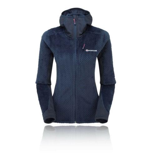 Montane Womens Wolf Hoodie Navy Blue Sports Outdoors Full Zip Hooded Warm