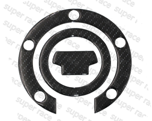 3D Carbon Fiber Gas Cap Tank Cover Pad Sticker For Yamaha YZF R1 2000-2014 Hi-Q