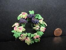 Dollhouse Miniature Grapevine Wreaths Set of 2 ~ MUL5569