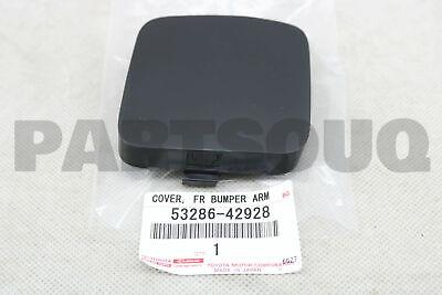 GENUINE OEM TOYOTA RAV4 SPORT LH FRONT BUMPER TOW HOOK COVER 53286-42928