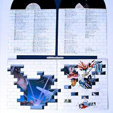 PINK FLOYD THE WALL VINYL LP GATEFOLD COVER ORIGINAL INNER SLEEVES N.MINT