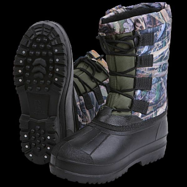 Haski-Extra  Waterproof Heated Hunter's Fishing Snow Warm Outwear Boots -40C