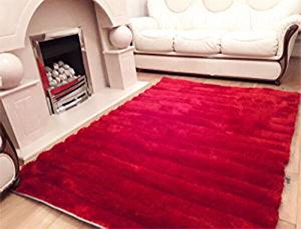 Linéaire 3D sculpté luxe soyeux moderne sol souple soyeux luxe tapis tapis Livining chambre à coucher 5348ad