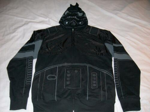 SHADOW TROOPER Star Wars Black Hoodie Adult Lg NWT Stormtrooper Jacket Costume