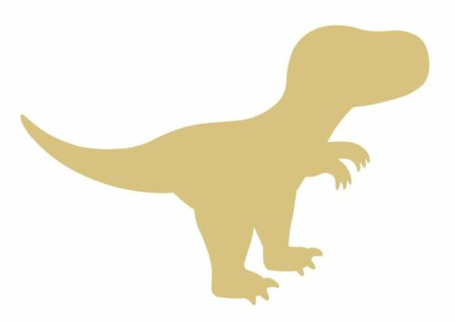 T-Rex Dinosaur  MDF Shape Cutouts Variety of Sizes USA Made Nursery