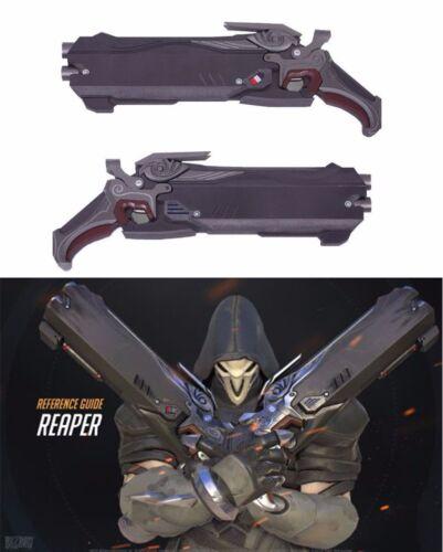 2 Pcs Overwatch OW 1:1 Size Reaper Hellfire Shotguns Halloween Costume Cosplay
