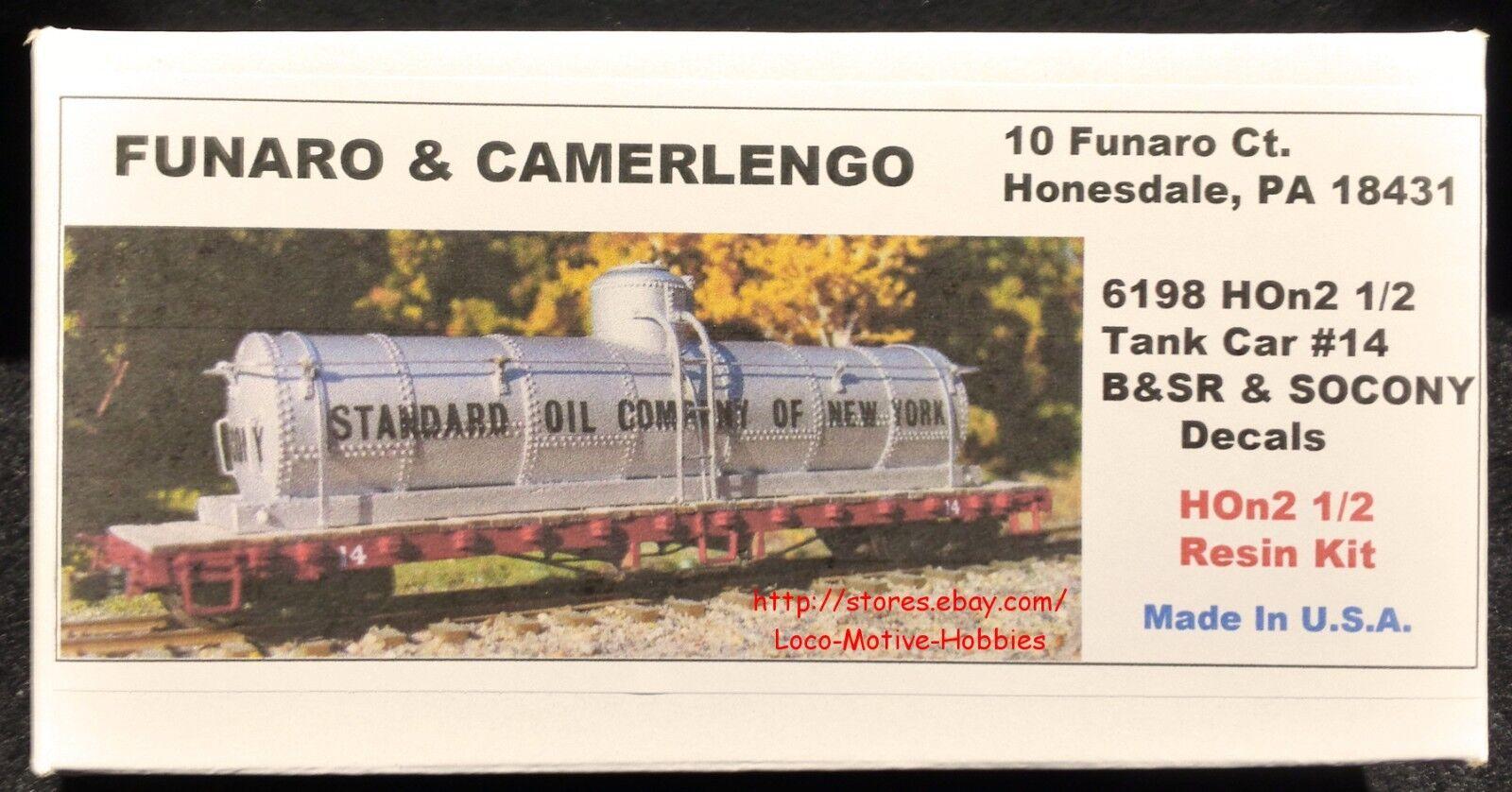 Funaro F&C 6198 HOn2-1 2 Bridgton saco Río Tanque  14 b&sr Socony Standard Oil