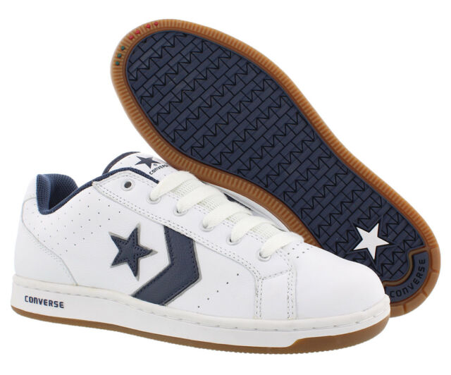 c6c446cf7a3b Converse Karve Ox Skate Shoes White navy Sz 9 for sale online