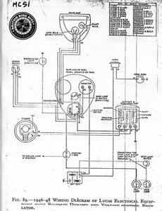 Cloth Wiring Harness - Triumph 5T Speed Twin 1946-49 | eBayeBay