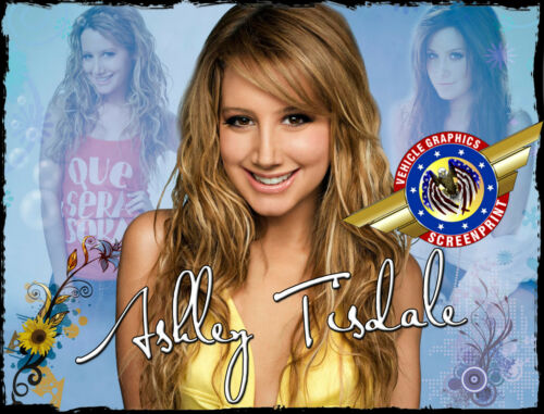 """Ashley Tisdale /""""Rock Star/"""" Personalized T-shirts"""