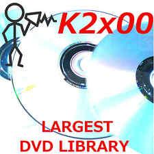 Kurzweil K 2000 2500 2600, K2661, PC3K8 Largest Sound Program KRZ Library DVDROM