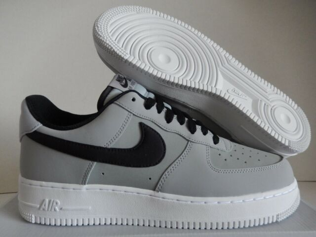 competitive price bad3e c2309 NIKE AIR FORCE 1 07 LEATHER WOLF GREY-BLACK-WHITE SZ 14 [AJ7280-003]
