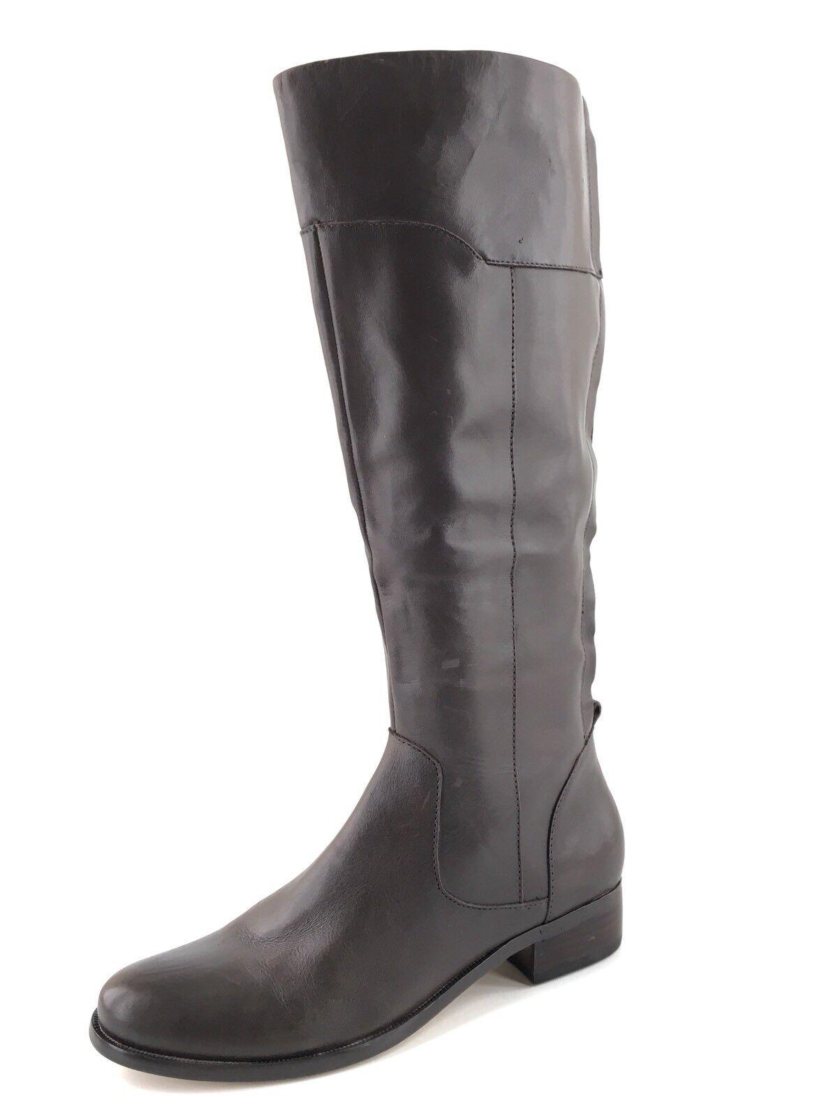 Corso Como Geneva Braun Leder Knee High Western Riding Stiefel Damens Größe 5.5 M