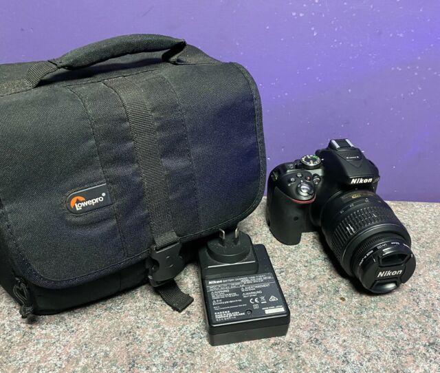 Nikon D5300 Digital SLR Camera with Lens 18-55mm Working