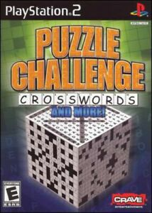 Puzzle Challenge: Crosswords & More - Sony PlayStation 2