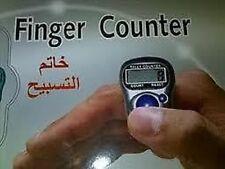 5 x Finger Ring Digital Tasbeeh Tasbih Tally Counter Electronic