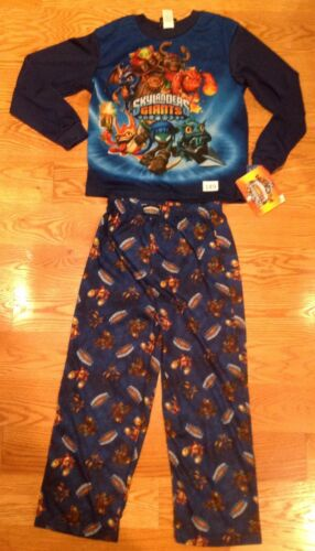NWT Gil Grunt Skylanders Swap Force Boys 2-Piece Long-Sleeve  Pajama Set M 8