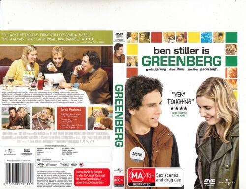 1 of 1 - Greenberg-2010-Ben Stiller-Movie-DVD