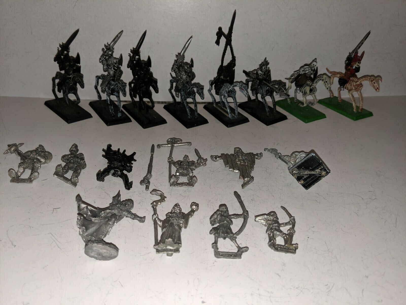 Classic Vampire Counts Wight Blood Dragon Hell Knight Skeleton Ghost OOP Lot