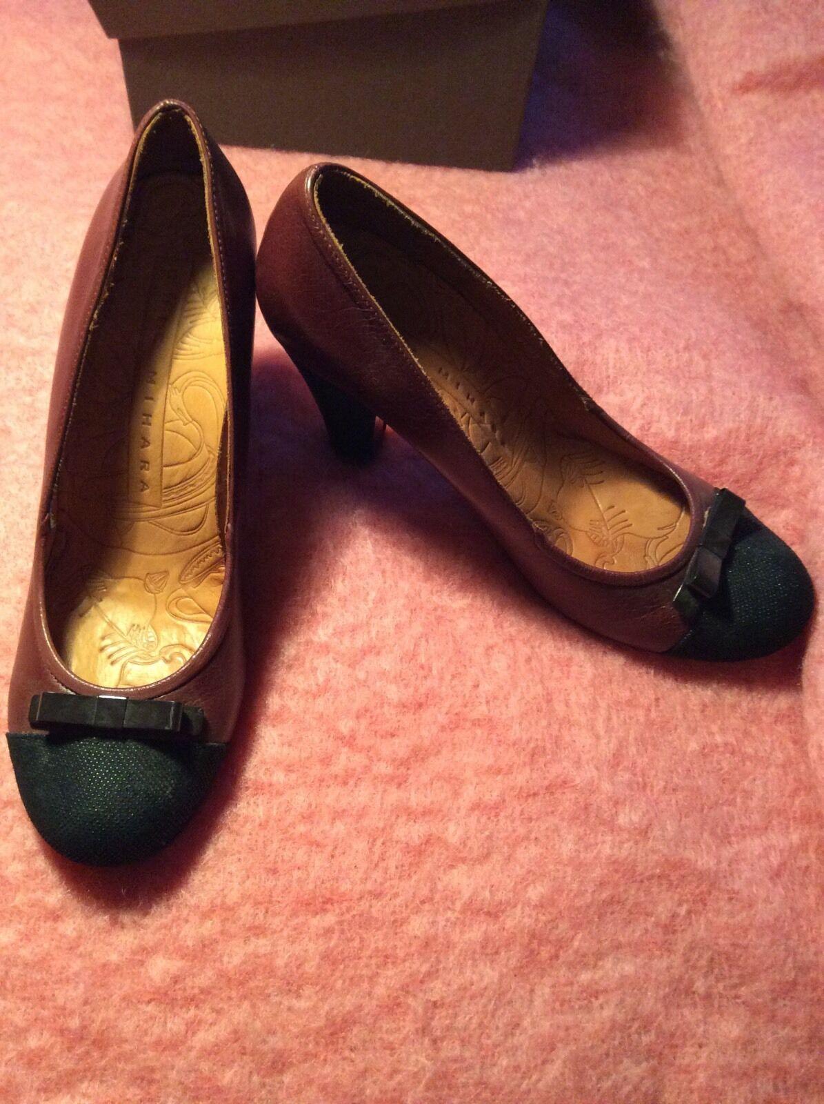 Descuento de liquidación NEW Chie Mihara Pumps 39,5 High Heels brown Schuhe