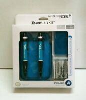 Blue Nintendo Ds Case System Essentials Kit 8 Piece Kit Ds Lite Dsi Stylus