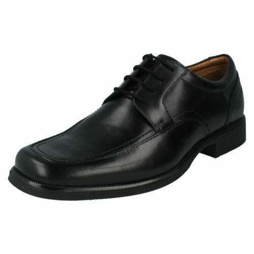 formali Uomo da Up Black Huckley Scarpe Saldi Spring Lace Smart Clarks Leather lavoro Sxfg7dqqw