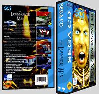 Lawnmower Man - Sega Cd Reproduction Art Dvd Case No Game