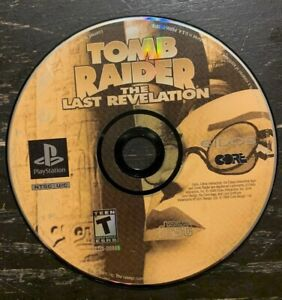 Sony Playstation Ps1 Tomb Raider Last Revelation Cl Game