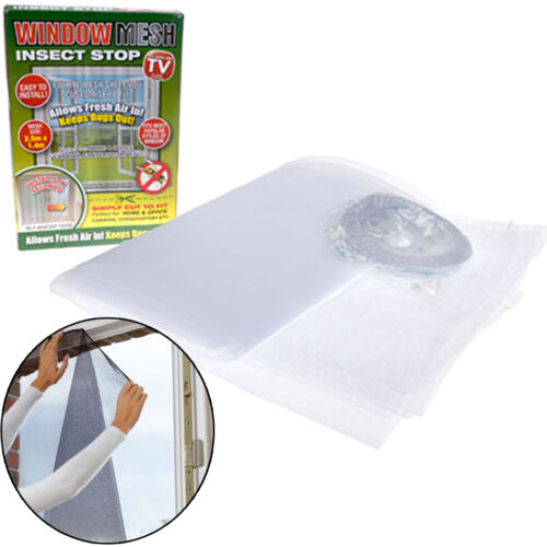 Window Mesh Insect Fly Bug Pest Protector Nets Home Office Repellent Wasp Bee