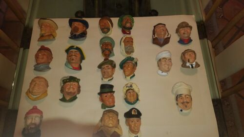 Bosson/'s Masquerade Legend Chalkware Figures 21 available $25 per Name the piece
