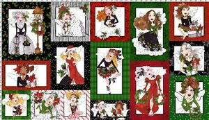 Loralie-Designs-Merry-Fairy-panel-24-034-x-44-034-15-lovely-holiday-ladies-wings-SALE