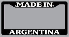 Chrome METAL License Plate Frame Made In Australia Auto Accessory 1072