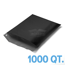 1000 6x9 Black Poly Mailers Envelopes Bags 6 X 9 25mil From The Boxery