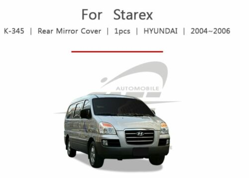 Chrome Rear view Mirror Cover Made Korea fit Hyundai STAREX  H1 iMAX 1997~2015