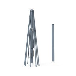 Sonnenschirm Gartenschirm Gestell 3m 300cm Alu Aluminium Anthrazit Grau B-Ware