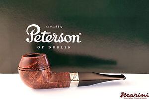 PFEIFE PIPES PIPE PETERSON OF DUBLIN ARAN 150 DRITTA RADICA LISCIA CON VERA