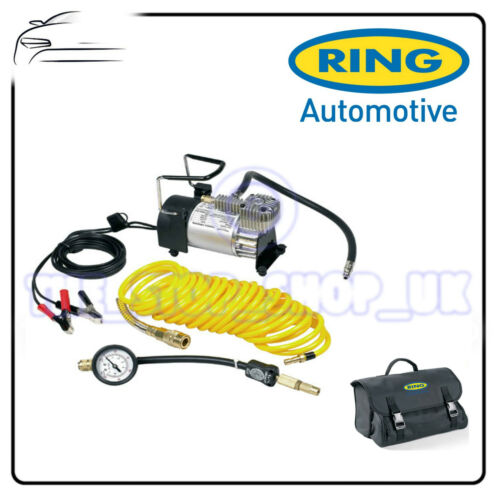 Ring PRO Heavy Duty Air Compressor 100psi Max Inflator Kit /& Deflator RAC900