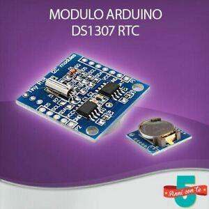 MODULO TINY RTC REAL TIME CLOCK SCHEDA DS1307 OROLOGIO CALENDARIO I2C ARDUINO