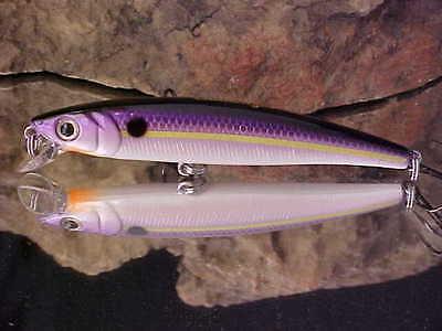"Challenger 3 1//2/"" Junior Minnow Lure JL120F#C347G UV WARERMELON for Bass//Walleye"