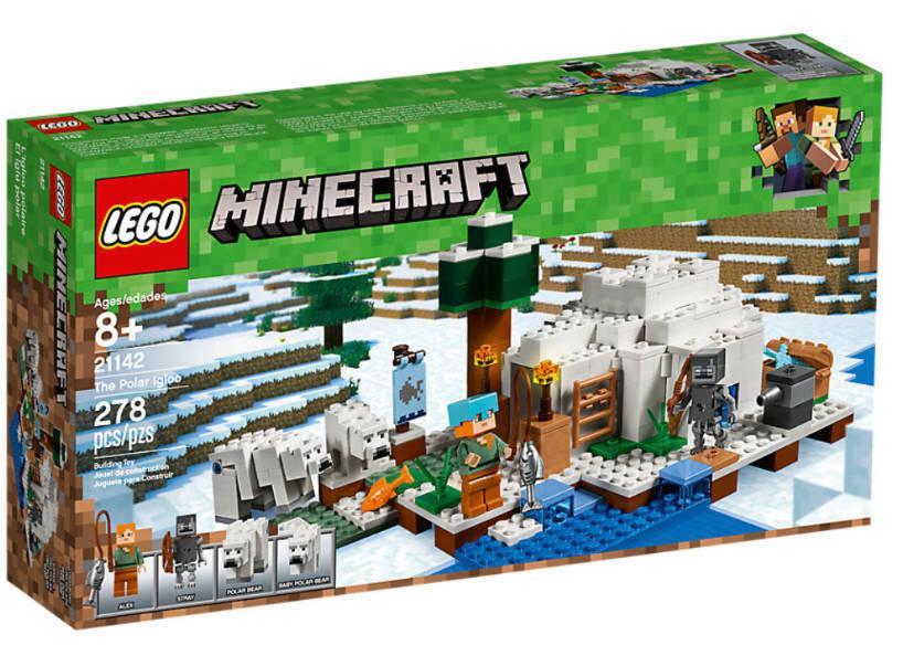 LEGO LEGO LEGO ® Minecraft ® 21142 eisiglu NOUVEAU & NEUF dans sa boîte Alex eiswanderer ours polaire ours polaire jeune 647e78