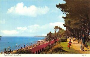 Vintage-Dorset-Postcard-Avon-Beach-Mudeford-FO2