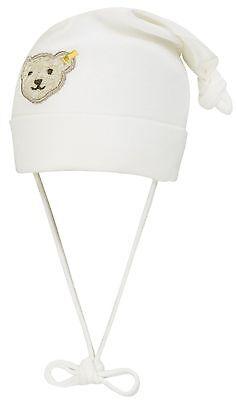 STEIFF® Jersey Mütze Bindemütze geringelt Rosa Bär Gr 37 39 41 43 45 47 49 NEU!