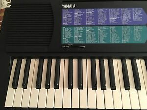 yamaha psr 185 keyboard with sound effects and with keyboard demo ebay